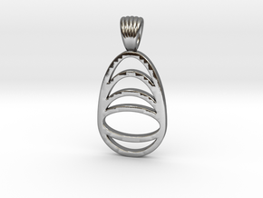 Watching you [Pendant] in Polished Silver