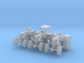 1/160 Lanz Schlepper D7506 set (3) in Smooth Fine Detail Plastic