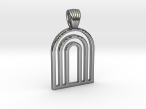 Arks [Pendant] in Polished Silver