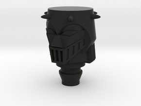Baron Karza Head Type S in Black Natural Versatile Plastic