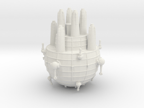 Triplanetary League Dreadnaught in White Natural Versatile Plastic