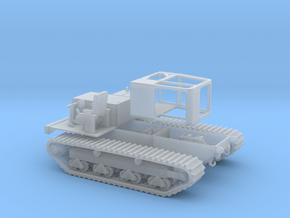 1/87th Morooka Tracked Vehicle Carrier Platform in Smoothest Fine Detail Plastic