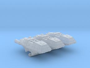 1-1000 Scale 1978 BSG Colonial Shuttlecraft in Smoothest Fine Detail Plastic