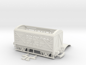 HO/OO GWR Milk Van v1 Bachmann in White Natural Versatile Plastic