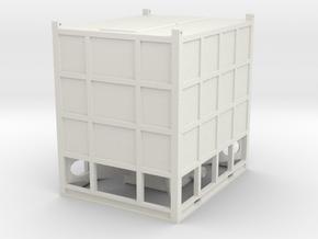 1/50th SandBox Hydraulic Fracturing Sand Box in White Natural Versatile Plastic