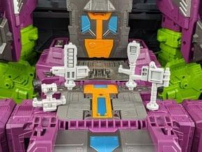 TF Earthrise Scorpion Titan City Accessory Set in White Natural Versatile Plastic