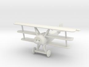 GWA19 Fokker DrI Triplane (1/144) in White Natural Versatile Plastic