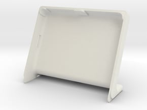 Cover f. pimoroni HyperPixel and Raspberry Pi 3 A+ in White Natural Versatile Plastic