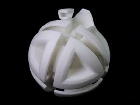 Holonomy octahedron in White Processed Versatile Plastic