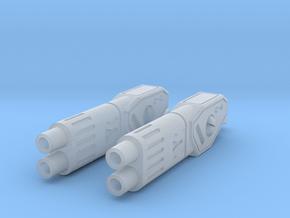 TF-G2a HI-Fuser Blaster - Side Mount in Smooth Fine Detail Plastic: d00