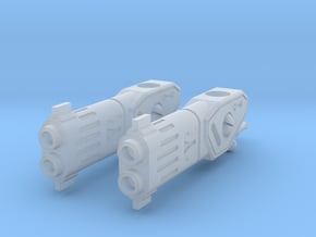 TF-G2b Diffused Fuser Blaster - Under Mount in Smooth Fine Detail Plastic: d00
