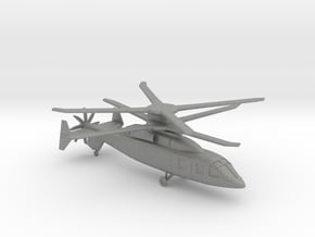 Boeing-Sikorsky SB-1 Defiant Compound Helicopter in Gray PA12: 1:144