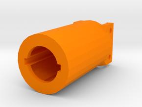 M4 Receiver Picatinny Mount Adapter Mark II (58mm) in Orange Processed Versatile Plastic