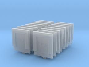 Loading Dock Door (x16) 1/400 in Smooth Fine Detail Plastic