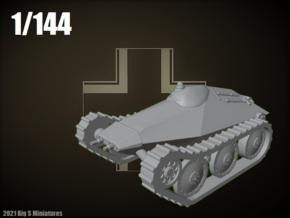 1/144 KleinpanzerKampfwagen Maus in Smooth Fine Detail Plastic