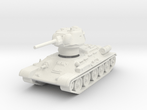 T-34-76 1943 fact. 183 late 1/120 in White Natural Versatile Plastic