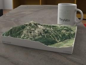 Crested Butte, Colorado, USA, 1:25000 in Natural Full Color Sandstone