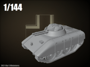 1/144 E-15 Kugelblitz AA in Smooth Fine Detail Plastic