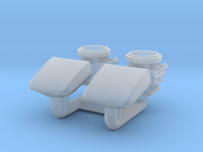 1/25 WCFB Carbs, 4040 Scoops x2 in Smooth Fine Detail Plastic