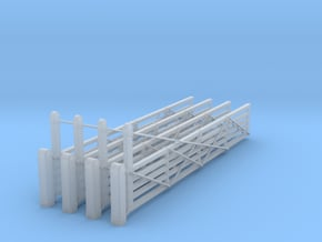 VR 26' #1 Gate 4 Pack 1-87 Scale in Smooth Fine Detail Plastic