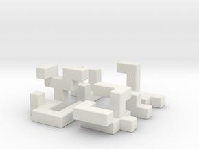 Primary Gain in White Natural Versatile Plastic