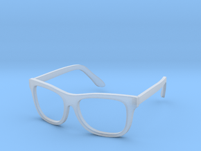 Glasses in Smooth Fine Detail Plastic