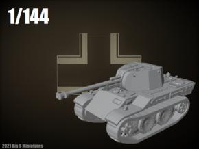 1/144 10.5cm leFH 18 auf VK 16.02 Leopard in Smooth Fine Detail Plastic
