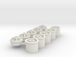 Felgen Kaefer in White Natural Versatile Plastic