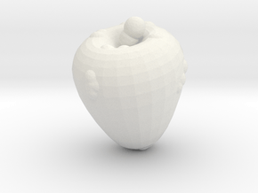 The Infected Apple in White Natural Versatile Plastic