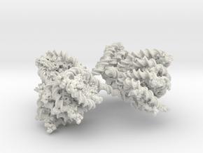 Stackable chromatine mkI in White Natural Versatile Plastic