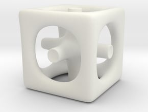 Inséparable N°1 in White Natural Versatile Plastic
