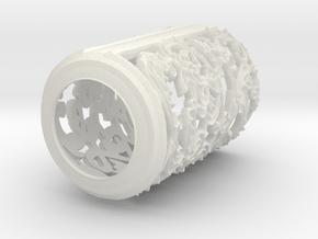 chinesewindowB in White Natural Versatile Plastic