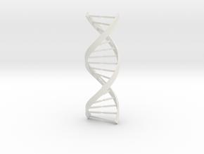 DNA in White Natural Versatile Plastic