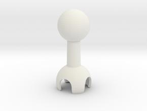 click-bone in White Natural Versatile Plastic