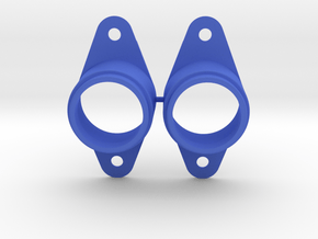 Early Pinball Button Housing #C904 (2 qty) in Blue Processed Versatile Plastic