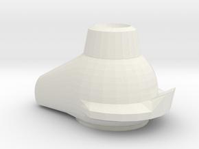 space_sneakers001.dae in White Natural Versatile Plastic