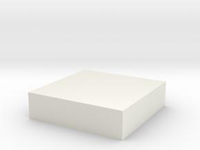 Star2 in White Natural Versatile Plastic