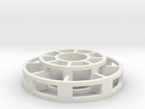 Pool Spacer in White Natural Versatile Plastic