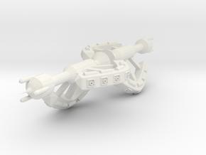 5 Small Spaceship x2 in White Natural Versatile Plastic