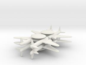 8 AWACS x4 in White Natural Versatile Plastic