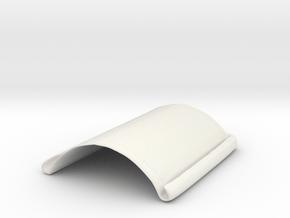 IR_Casing_Bottom_Final2 in White Natural Versatile Plastic