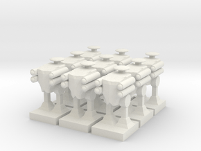 1 Scout Walker x9 in White Natural Versatile Plastic