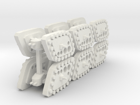 3 Scout Tank x6 in White Natural Versatile Plastic