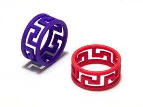 Ελλάς Ring in Red Processed Versatile Plastic: 8.5 / 58