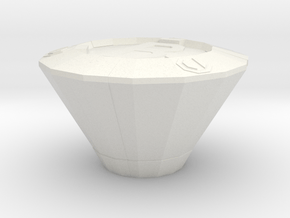 Smart Bomb in White Natural Versatile Plastic