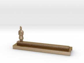 Porte Couteau Soldat 1 Xian in Polished Gold Steel