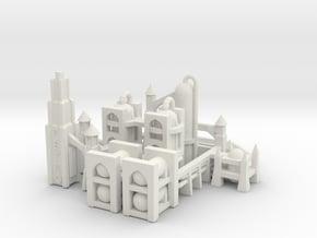 Gothic Refinery in White Natural Versatile Plastic