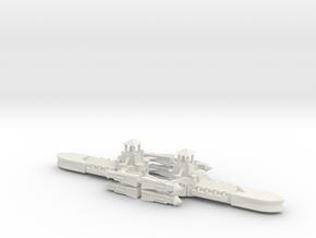 Gothic Destroyer x2 in White Natural Versatile Plastic