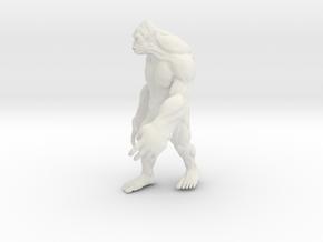 Yeti18 in White Natural Versatile Plastic