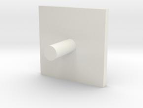 Caouchon 16 in White Natural Versatile Plastic